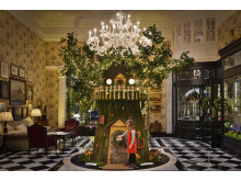 "LEGO ""The Twelve Rebuilds of Christmas"" at The Savoy London"