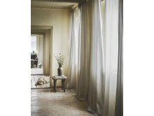 GUNRID luftrensende gardiner, 145x250 cm, lysegrå 229.-/2 stk.