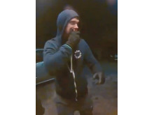 CCTV image of a man officers would like to speak to in relation to an attempted burglary in Emerson Valley