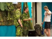 Försvarsmakten på Nordic Outdoor 2013