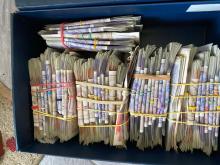 Image of seized cash