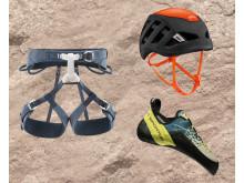 Säker klättring med rätt utrustning. Klätterkit HERR