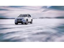 BMW iX3 vintertest