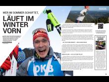 Garmin_#BeatYesterday_Print-Magazin_Doppelseite