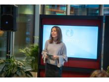 Elisabeth Aandstad Ekheim, Kommunikasjonssjef Bærekraft, Orkla ASA frokostseminar