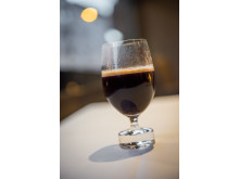 Riedel-glass med Exclusive Selection-kaffe