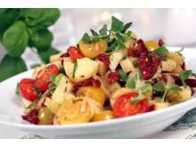 Potetsalat med tomater