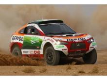 Mitsubishi satsar på seger i 2009 års Dakar Rally