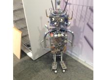 Roboten i Cheflines monter