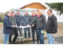 In Pleystein führte das Bayernwerk ein größeres Bauprojekt durch und errichtete unter anderem ein neues 20kV-Schalthaus und eine Ortsnetztrafostation.