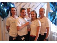 Kalmar finalister i Kranvattentävlingen 2015