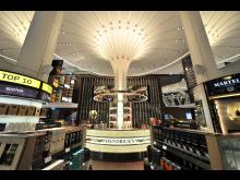 DFS Wines & Spirits flagship store at Changi Airport Terminal 3