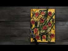 Västerbottensostpaj® med fikon och svartkål