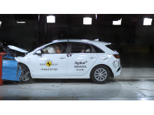 Kia Ceed Frontal offset impact test June 2019