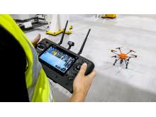 Drone vedlikehold fabrikk 2018