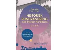 Historisk rundvandring med Sverker Haraldsson i Folkets Park 2019