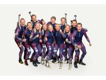 Skiskytterlandslaget 2018/2019