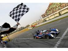 Peugeot 908 avslutar med dubbelseger i Kina och totalseger i Intercontinental Le Mans Cup