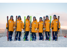 Skicross-landslaget säsongen 2019/2020