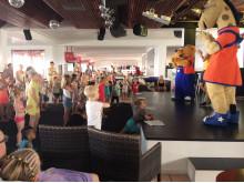 Spies' Lollo og Bernie-figurer er populære blandt børnene på Sunwing Family Resort Kallithea.