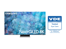 [Photo] Samsung Neo QLED TVs receive Eye Care certificate from VDE(1)