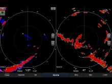Garmin Fantom 18x 24x Screen Dual-Radar-Unterstützung mit dualer Anzeige