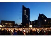 Lichtfest am Augustusplatz Leipzig