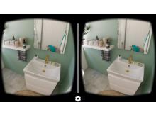 bild från 3d glasögon