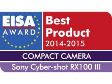 EISA Award 2014_DSC-RX100M3von Sony