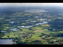 Tillsyn vid tre sjöar i Valle