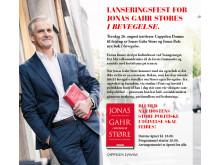 Jonas Gahr Støre Lanseringsfest