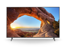 "85"" BRAVIA X85J 4K HDR LED TV"