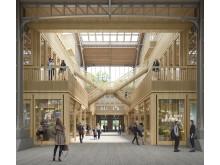 Nebenhalle, Gare Maritime Brüssel