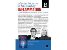 Inflammation – roten till sjukdom och vad du själv kan göra för att läka. Författare Martina Johansson och Ralf Sundberg