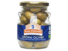 Kung Markatta Gröna oliver (med kärna)