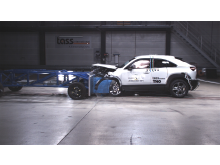 Mazda MX-30 - Mobile Progressive Deformable Barrier test 2020