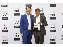 Chal-Tec_Top100-Verleihung_Jens Stens Steen (links, CFO bei Chal-Tec)...