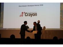Årets Wodern Workplace-partner - Crayon