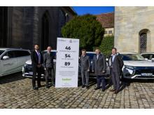 ForstBW fährt Mitsubishi Outlander Plug-in Hybrid