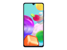 10_Samsung Galaxy A41_prism_crush_blue_front
