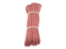 PolyRopes Fall-/Skotlina Poly-Braid-24, vit-röd