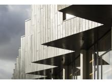 Upcycle Studios i Ørestad Syd er bygget af upcyclede byggematerialer