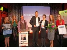Franziska Franke-Kern (3.v.r.) für CLARA19 mit dem Tourismuspreis 2019 im Bereich Unternehmen/Institutionen