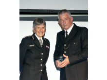 Officer of the Year - PC Andy Cougar & Cmsr