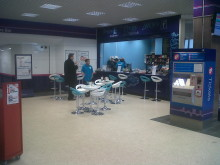 Chuggs coffee shop before the refurbishment
