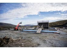 Geitfjellet vindpark okt 2018 servicebygg