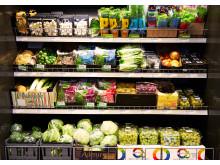 Butik - Frukt och grönt-kyl