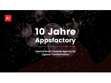 10 Jahre Appsfactory