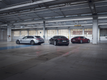 Porsche Panamera 4 E-Hybrid Sport Turismo, Panamera Turbo S E-Hybrid och Panamera 4S E-Hybrid