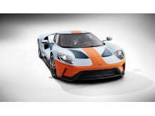 Ny Ford GT Gulf Oil lakering